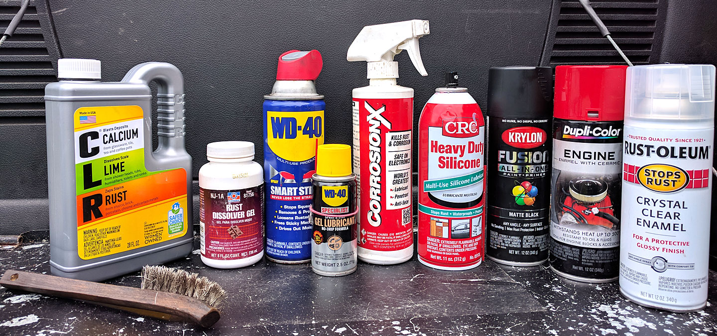 Rust Cleaning Chemicals